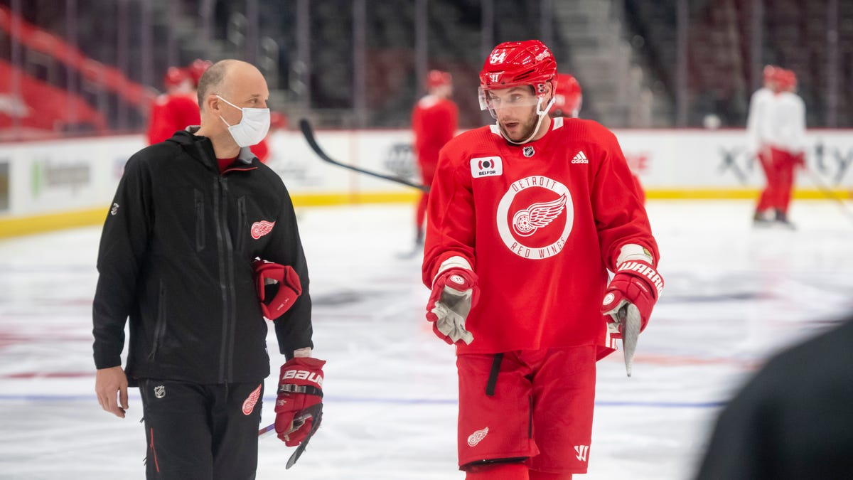 Red Wings, NHL preparing for different type of season with COVID 1
