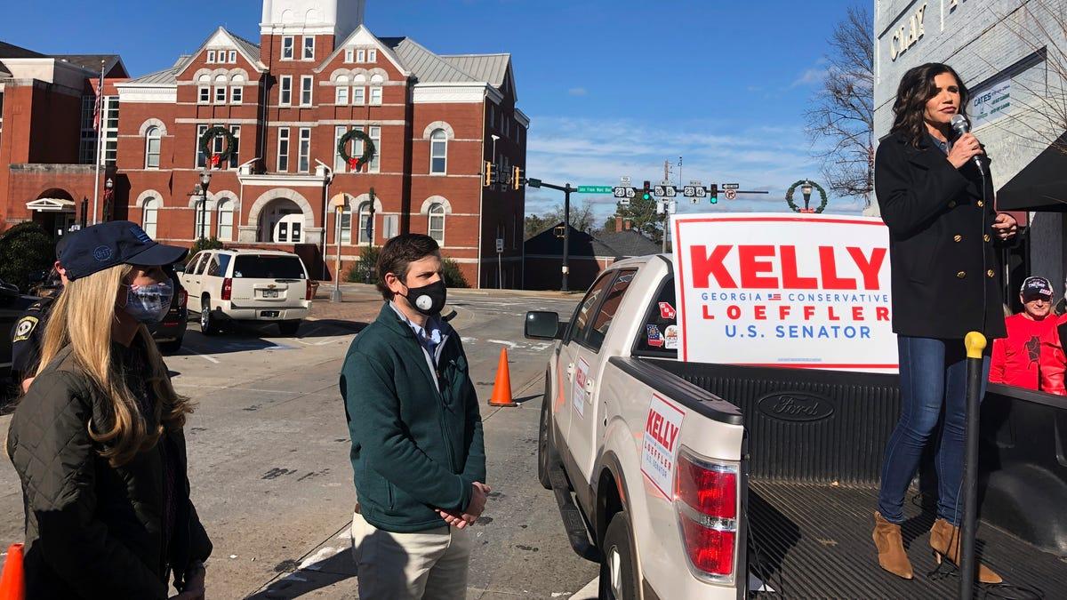 In Georgia, final warnings about high-stakes Senate runoffs 1