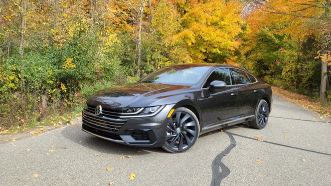 The 2020 VW Arteon R-line model is the brand's priciest sedan at nearly $50,000 — but that's nearly $20,000 south of a comparable Audi A7 with similar hatchback utility. The sedan is one of the most beautiful shapes on the market.