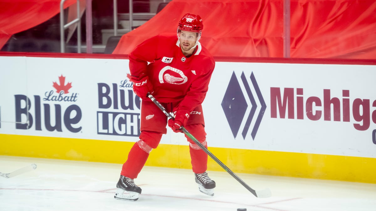 Team White wins Red Wings intrasquad scrimmage 1