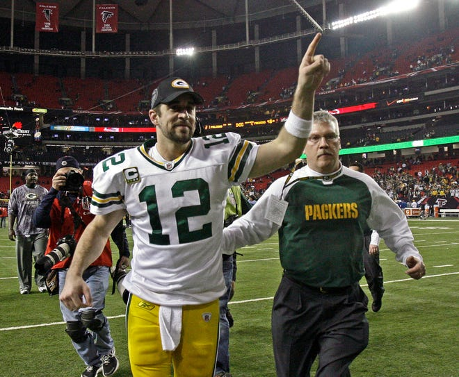 Some national experts think Aaron Rodgers and the Green Bay Packers will be No. 1 in the NFC.