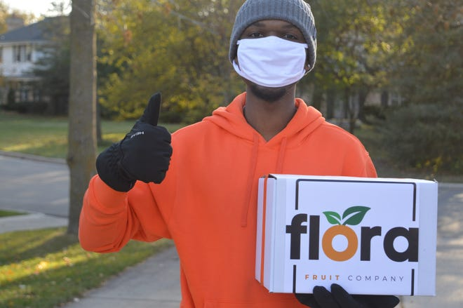 Jalen Greenlee is the founder of Flora Fruit Co., a Milwaukee-based subscription fruit box service that delivers to southeastern Wisconsin.