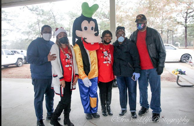 PCS Outreach brings Disney to Pensacola to help comfort children during the pandemic.