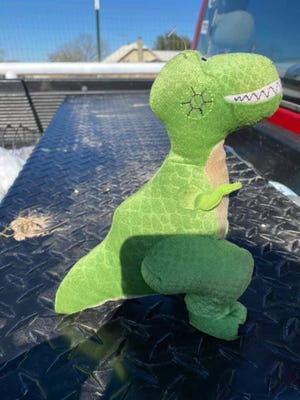 """Rex"" was found on the corner of 765 and Highway 83 between Paint Rock and Eden."
