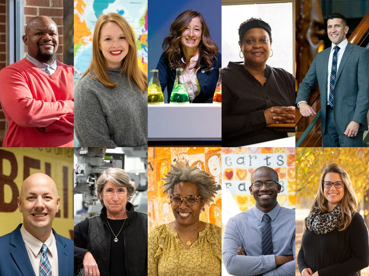 Upstate Parent's 2021 Educators Who Make A Difference