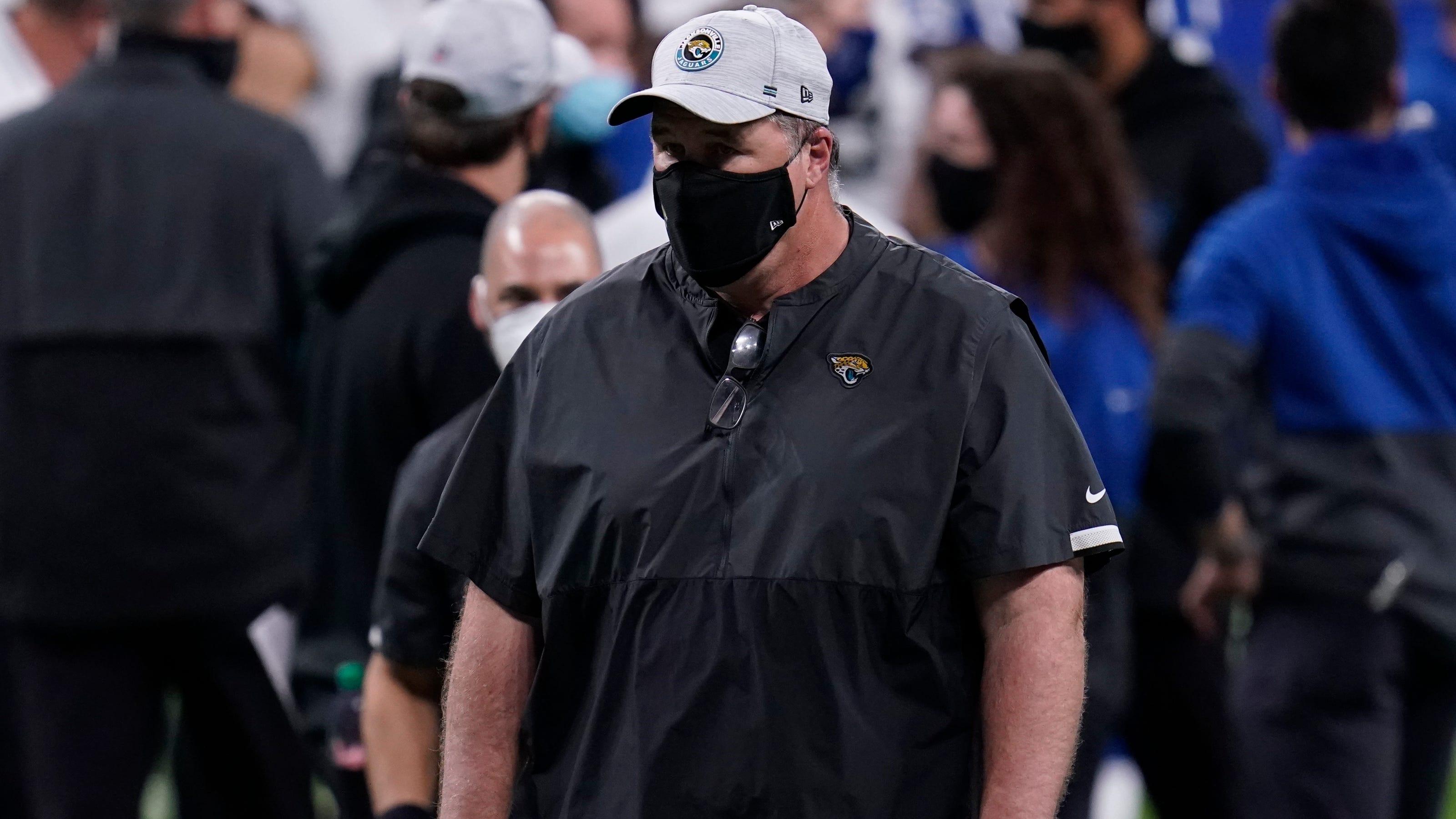 Jaguares despiden a Doug Marrone tras finalizar con el peor récord de la NFL