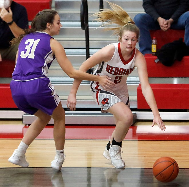 Loudonville freshman Corri Vermilya has made a huge impact right away, averaging a double-double for the undefeated Redbirds.