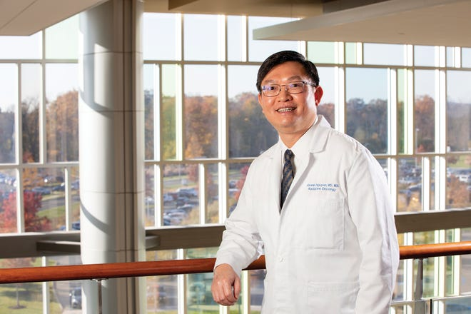 Dr. Khanh Nguyen provides advanced radiation oncology treatment at Capital Health Medical Center – Hopewell.