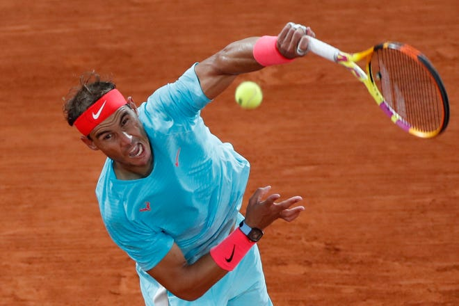 """The world is suffering a lot, so we are very lucky that we can play tennis,"" Rafael Nadal said in London in November."