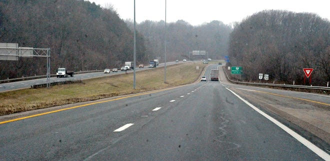 A look at U.S. Route 30 on the south side of Wooster.