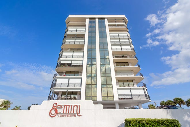 The Gemini in Ormond-by-the-Sea has undergone a complete renovation, including new floor-to-ceiling windows, sliders and balconies.