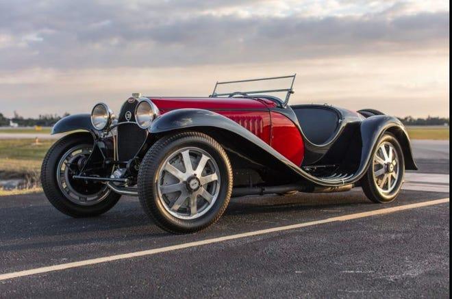 Bonham's top sale at 2020's Amelia - this 1934 Bugatti Type 59 Sports.