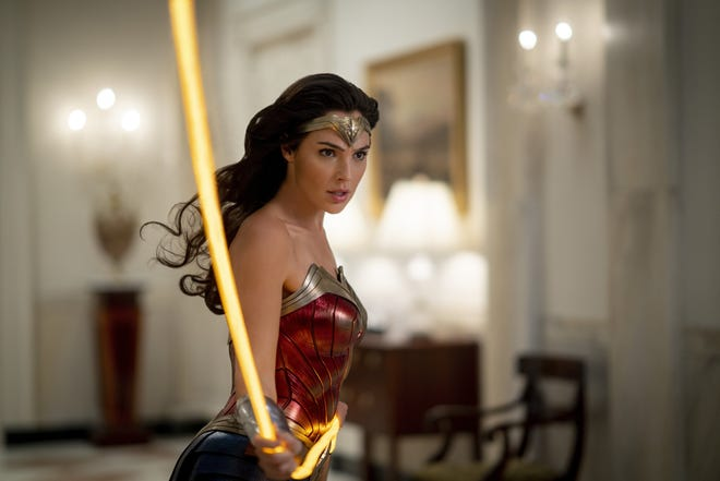 "Gal Gadot stars in the superhero sequel ""Wonder Woman 1984."""