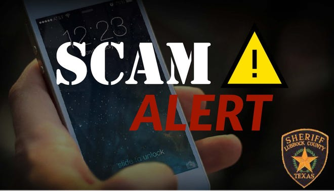 Lubbock Sheriff's Office officials on Monday are warning residents of a scammer impersonating a deputy on phone calls telling residents they will take payments over the phone to clear out an arrest warrant.