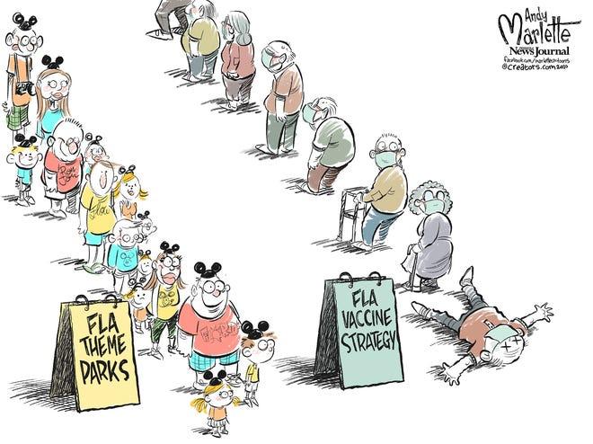 Today's editorial cartoon (Jan. 6, 2021)