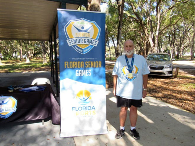 Robert Yost of the Winter Haven Horseshoe Club was Florida state champion in the men's 65-69 age groups respectively at the Florida Senior Games at Clearwater in December. It was his third consecutive title.
