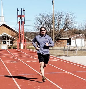 Michael Mora was the winner of the 5K race in the Rocky Ford Ring out the Old and Ring in the New Year virtual race which took place during the final week of December.