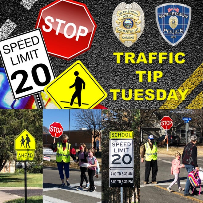 Traffic Tip Tuesday: School zones.