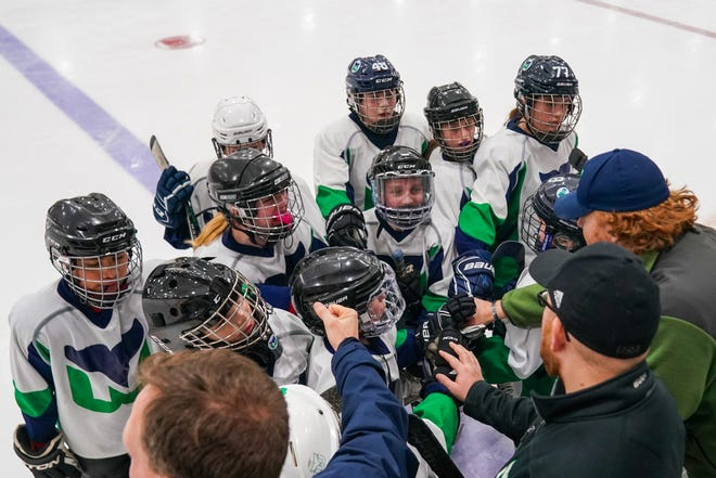 Travel teams with the Newport County Youth Hockey Association are allowed to practice under state guidelines, but interstate competition is not permitted.