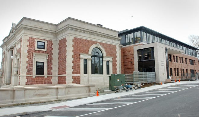 The Milton Public Library.