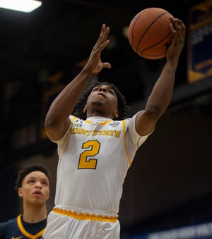 Kent State junior guard Malique Jacobs scored a career-high 23 points in Wednesday's loss at Ball State.