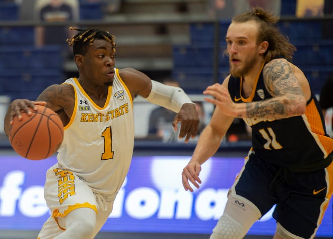 Kent State senior guard Mike Nuga scored 26 points in last Saturday's victory over Western Michigan.