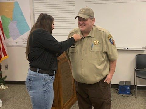 Danny Clayton was recently promoted to the rank of captain at the Erath County Sheriff's Office. He will help supervise the daily operations of the jail.