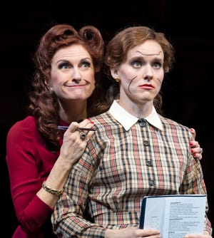 """Tina Stafford, left, seen with Amber McNew in Asolo Rep's 2020 production of """"Into the Breaches,"""" leads workshops on standing out on stage and in auditions for a new online masterclass series."""