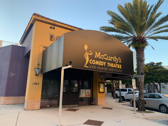 Founded in 1988, McCurdy's Comedy Theatre in downtown Sarasota has hosted a variety of national and local standup comics over the decades, including Chris Rock and Amy Schumer.