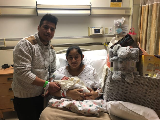 Beebe Healthcare announced the first baby of 2021 born in the first town in the first state — Emely Gomez Manjarrez, born to parents Maria Manjarrez and Silvestre Gomez, of Millsboro, at 1:03 a.m. Jan. 1.