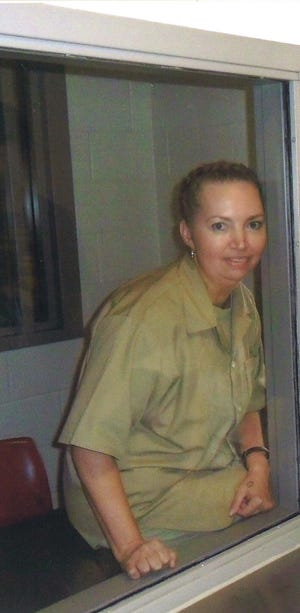 This undated photo of Lisa Montgomery in prison was provided by her attorneys.