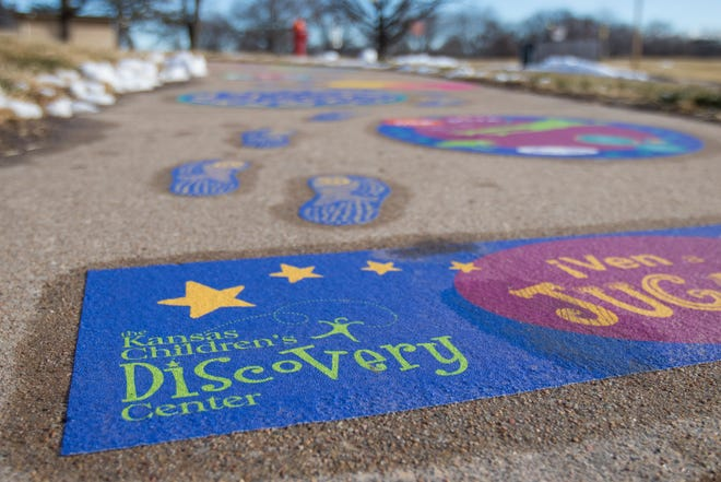 The Kansas Children's Discovery Center, in partnership with the Shawnee County Parks and Recreation department, installed 10 outdoor play spaces in parks and community centers around the city.
