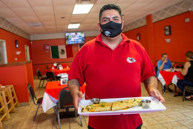 Alfredo Castillo, owner of Los Mandiles Rojos at 1003 SE Quincy St., opened his restaurant in 2020.