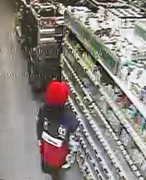 Fayetteville police are looking for a suspect in a New Year's Eve robbery of a Dollar General.