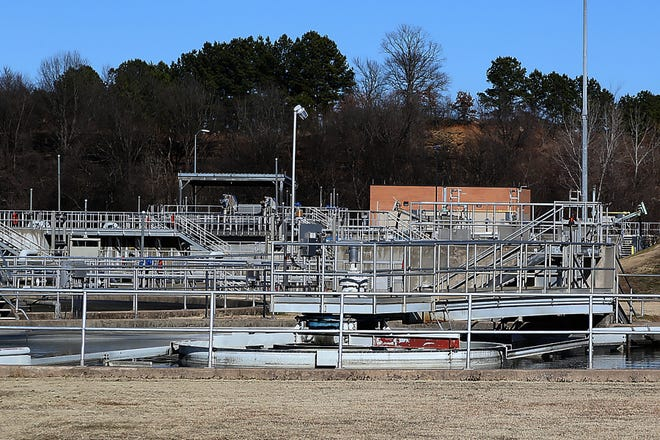 The P Street Wastewater Treatment Plant, 13, N P St., as seen, Tuesday, Jan. 5. The city is expected to pay $22.09 million for sewage improvements in 2021, according to Utilities Director Lance McAvoy.