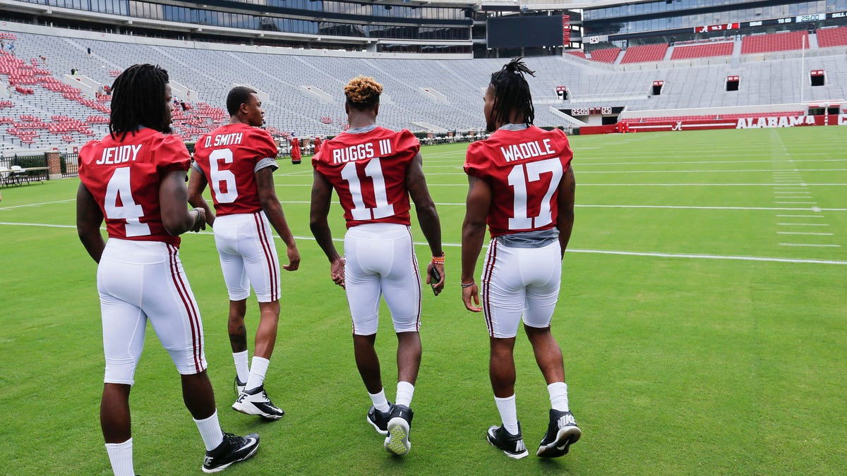 Former Alabama wide receiver Jerry Jeudy explains 'what's in the water' in Tuscaloosa