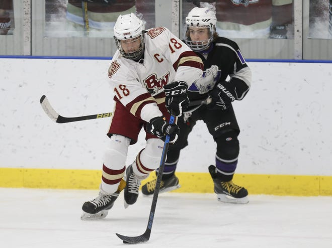 Senior Adam Pavliga has been a key player for Watterson's improving defense. He also has helped the offense, delivering five goals and six assists in the first nine games.