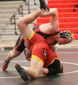Groveport's Jake Nelson is shooting for his second consecutive Division I state tournament berth. A year ago, the 220-pounder went 45-3, finishing as sectional and district runner-up.