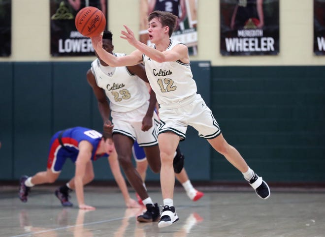 Sophomore guard Lachlan MacDonald has provided an early season spark for Jerome, including making seven of nine 3-point attemptsin a 60-47 victory over Hartley on Dec. 30.