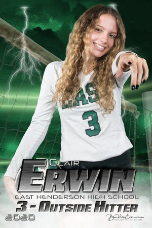 East Henderson senior Clair Erwin is the Citizen Times' Athlete of the Week!