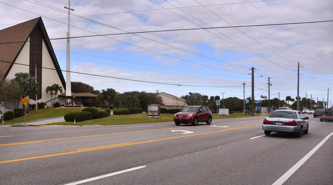 The Florida Department of Transportation plans to install a mid-block crosswalk near First United Methodist Church of Cocoa Beach, south of Pinellas Lane.