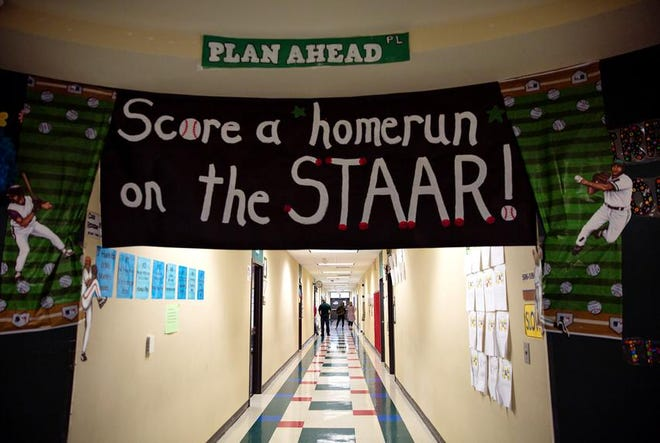 Texas students in third through 12th grade take the State of Texas Assessments of Academic Readiness assessments, which often determine whether they can graduate or move up to the next grade.