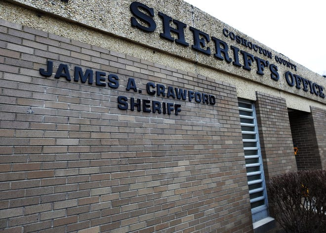 Coshocton County Sheriff's Office Building, Sheriff James A. Crawford