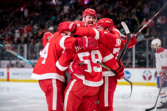 Meet the 2021 Detroit Red Wings