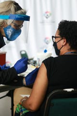 The Washtenaw County Health Department has vaccinated 1,500 first responders and has 680 more scheduled this week.