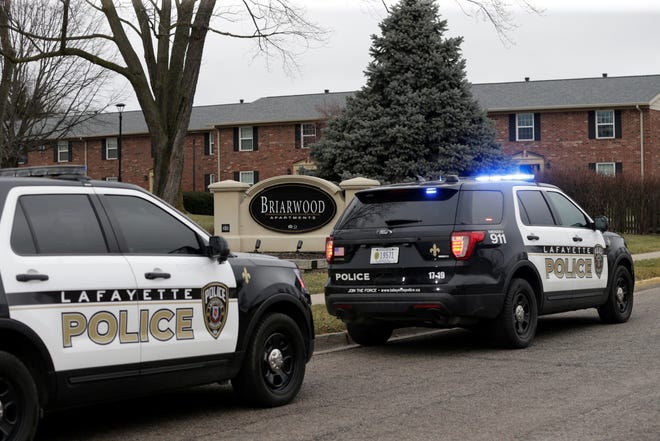 Lafayette police are on scene in the 1800 block of Windemere Drive investigating a shooting that happened about 1:40 p.m. Tuesday, Jan. 5, 2021.