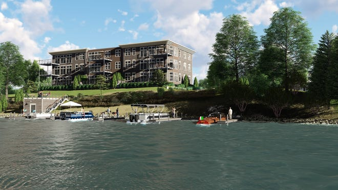A 10-unit condominium development in Okauchee is expected to be built by the end of the year.