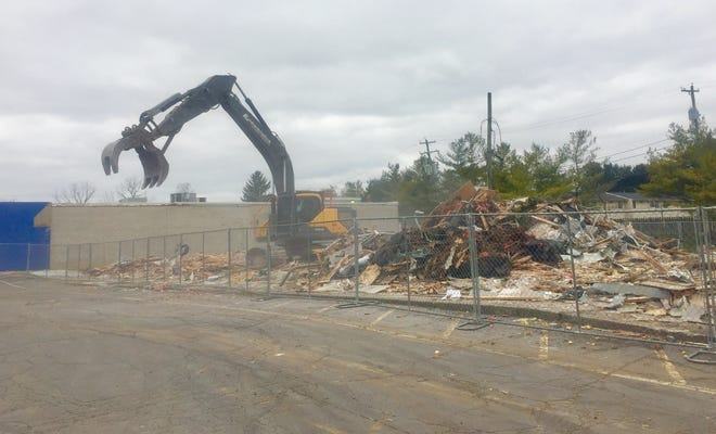 Demolition concludes on Southgate Mall in Pataskala.