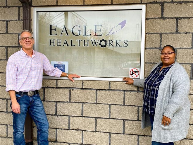 Dennis Eagleeye and his wife, Tracey, are prepared to take new clients at their recently-opened addiction clinic in Thornville.