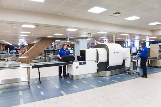 New computed tomography checkpoint scanners at airports give TSA officers a 3D view of carry-on bags.